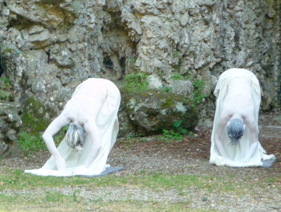 Dance4GardensMe/moire secret gardenperformance in virtual reality