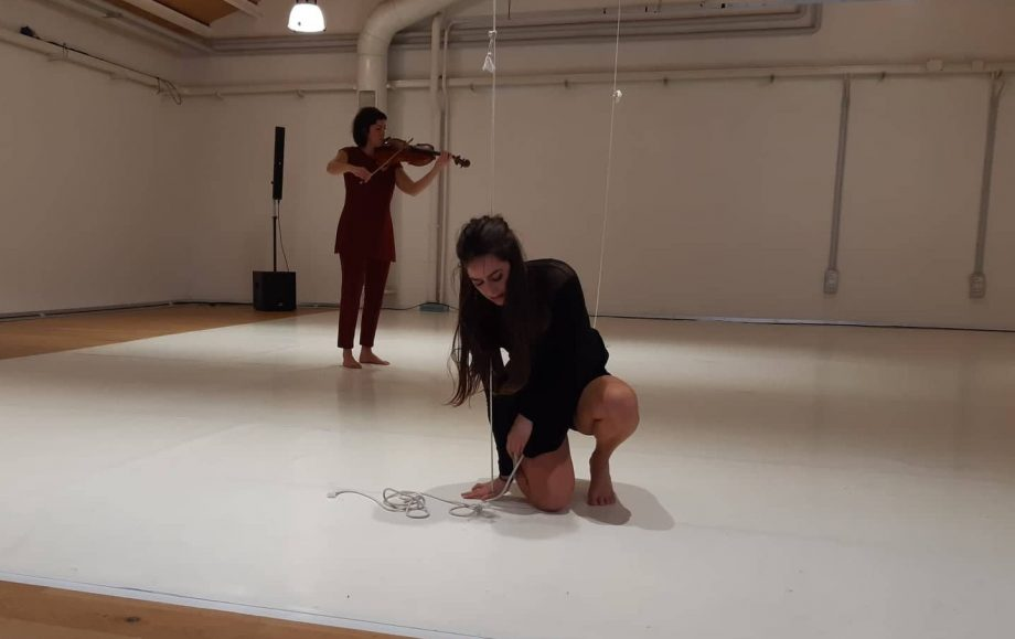 Sara Sicuroe Cristina PetittiResidenza coreografica