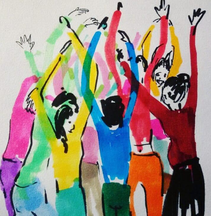 Come disegnare un corpo danzante· Incontro/laboratorio per bambini e ragazzi ·